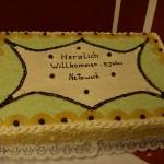 Kuchen beim Benefizdinner 2008