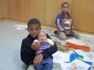 Treffen der Familien im Rahmen der Rucksakgruppen