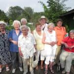 Unsere Seniorengruppe besucht die internationalen Gärten