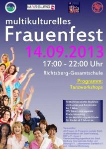 Flyer Frauenfest 2013